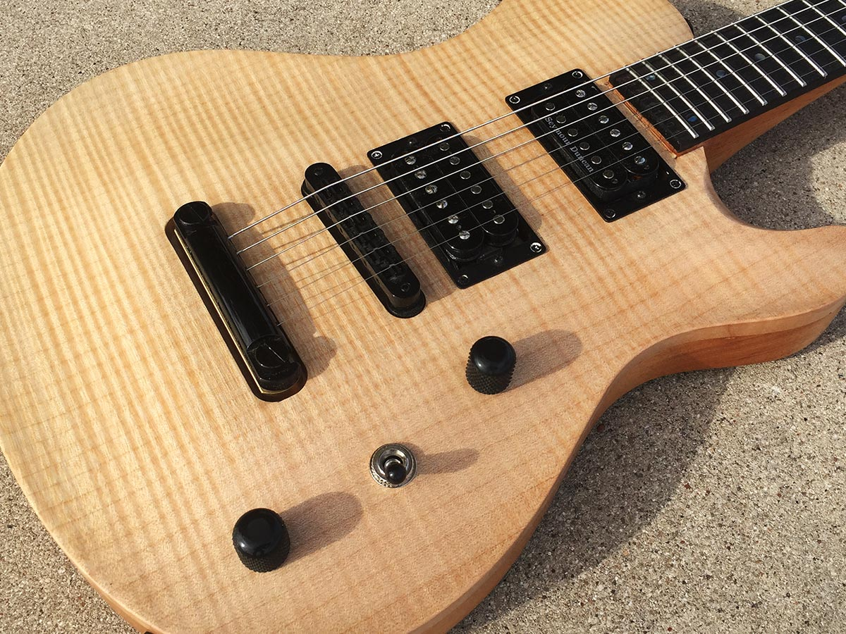 singlecut carved top custom